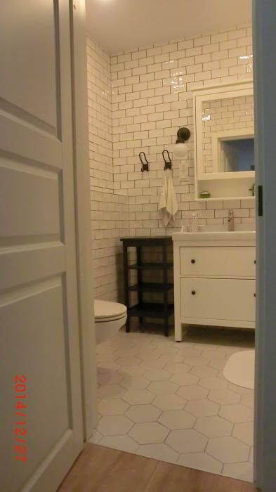 отделка квартиры ванная, плитка кабанчик