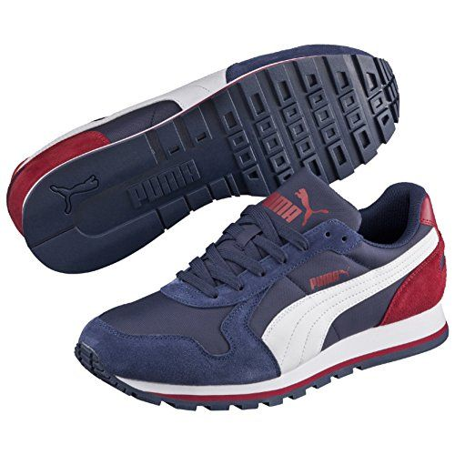 Puma St Runner Nl, Unisex Adults' Running Shoes, Multicolor (Peacoat-White-Rio Red) 10 UK Puma http://www.amazon.co.uk/dp/B00WM637EQ/ref=cm_sw_r_pi_dp_sxmXwb0NV4QSE