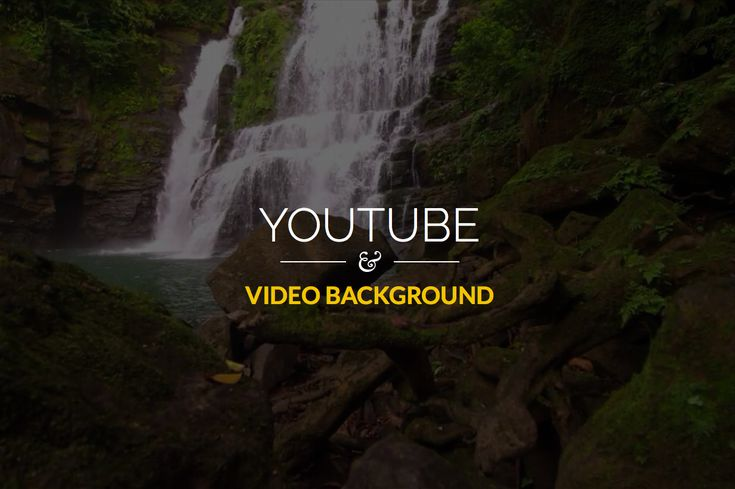 In this article, we'll show you how you can build a cool video background site using YouTube video. We will use jQuery.mb.YTPlayer.js to customize.