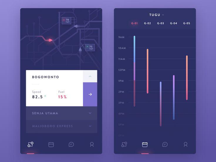 Train Officer App Exploration by Ghani Pradita