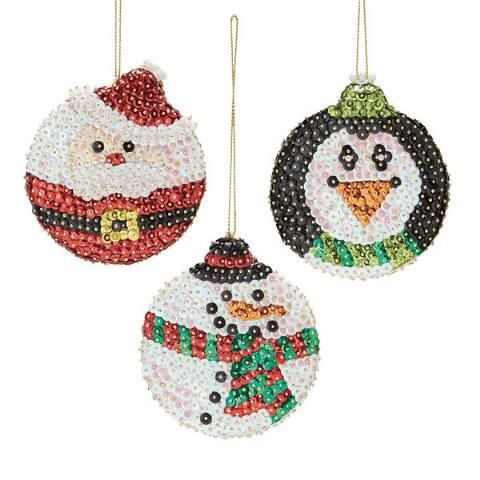 Sunrise Craft & Hobby™ Roly Poly Christmas Ornament Kit Was: $19.99                     Now: $14.99