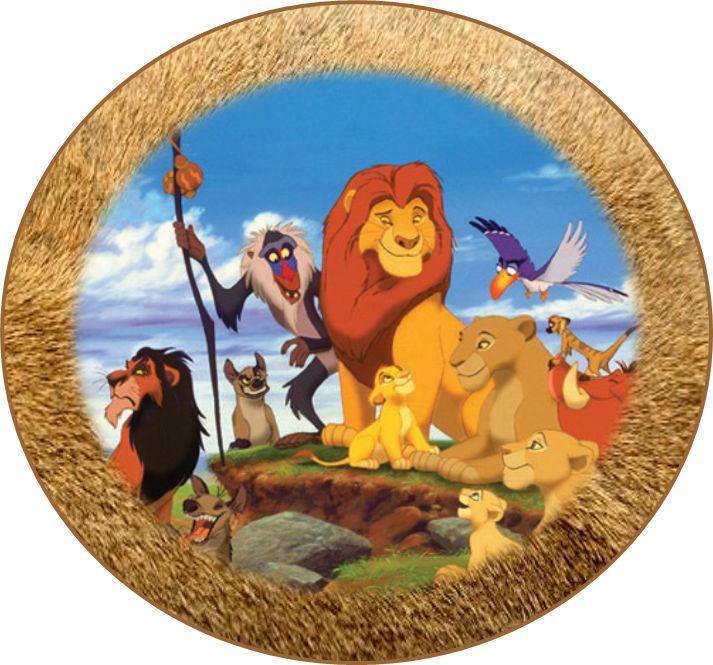 Free Lion King Party Ideas Creative Printables Lion