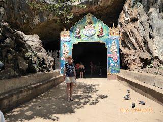 "Khao Lak - Thailand: ""Suwan Kuha Tempel""  Affentempel, Khao Lak, Süd Th..."