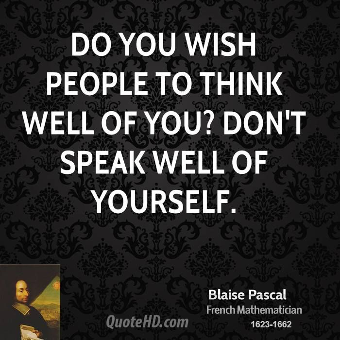 Blaise Pascal Quote shared from www.quotehd.com