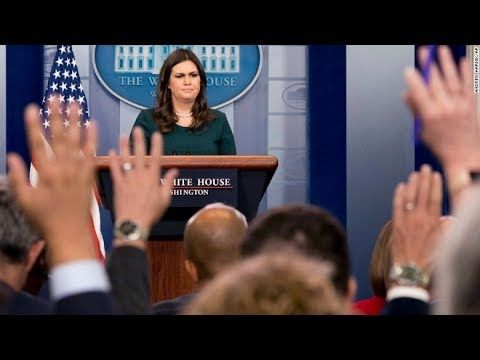 Breaking News Update: Sarah Sanders just made an absolutely outrageous a...