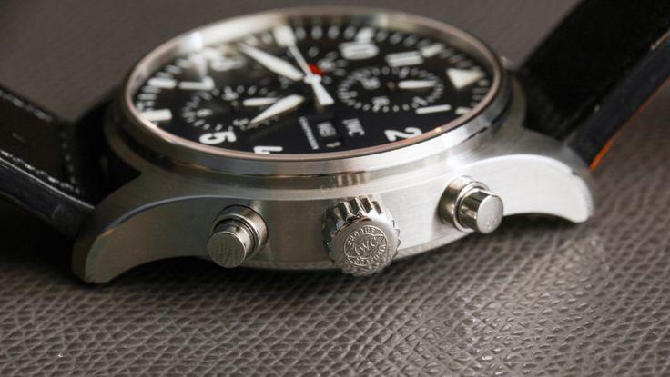 IWC Pilot�s Watch Chronograph Watch Review
