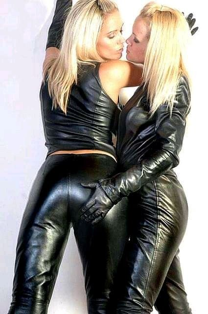 Pin by Mfitts on Lesbian desire in 2020   Leather outfit