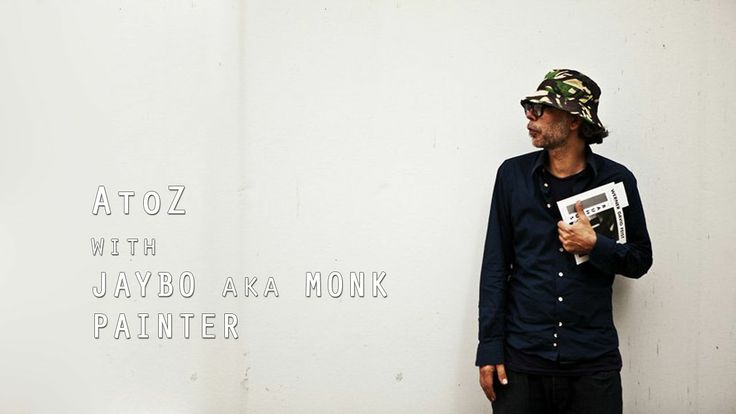 AtoZ with JAYBO aka MONK. A short film about choices an artist makes when creating. By looking at the process of one of their works.