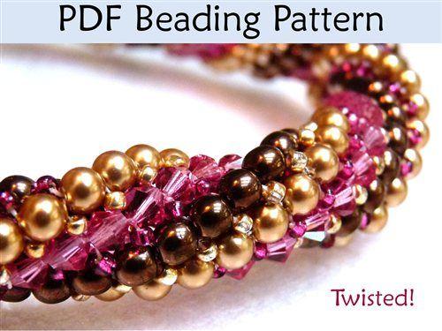 Twisted Tubular Herringbone Beading Tutorial - Beading Daily