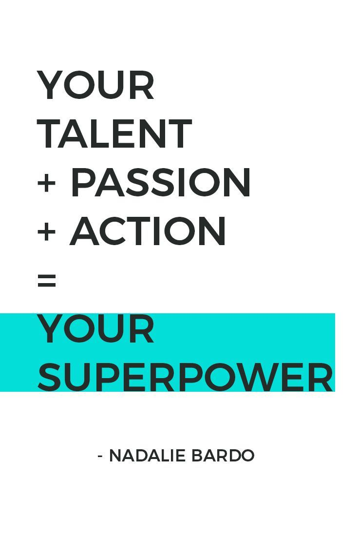 Your Superpower = your talents + your passion ❤️ + your actions ⚡️. It's what makes you magically unique. That something special only you can offer the world. Get your free guide with 20 ways to discover yours.