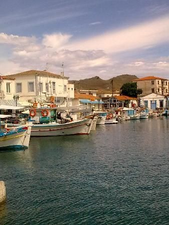Lemnos, Greece: harbour