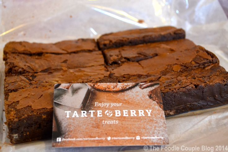 Craving some of these brownies from Tarte and Berry today