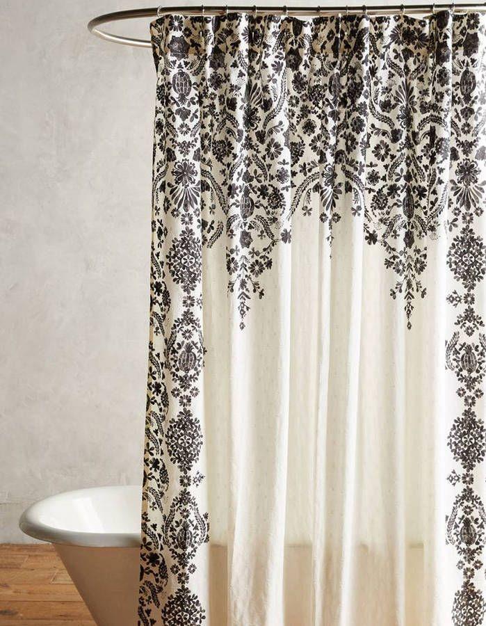1000 id es sur le th me rideaux de douche sur pinterest - Rideaux salle de bain ...
