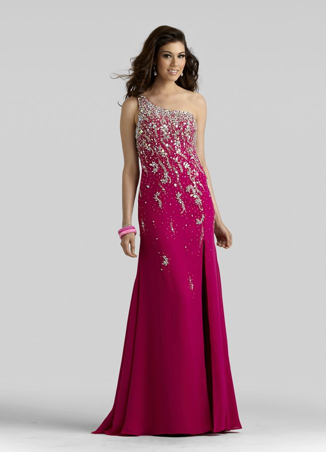 I dream prom dresses one shoulder