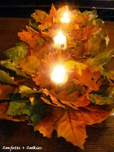 Easy craft that will give you stunning result. Perfect for Thanksgiving or Autumn party