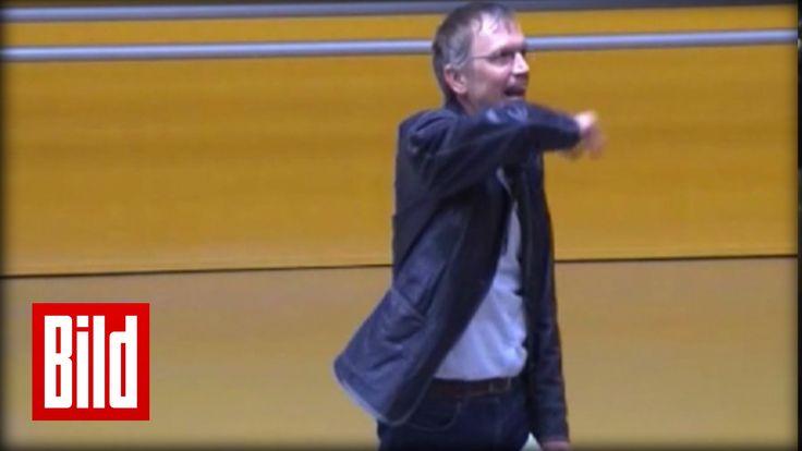 """Uni-Professor geht steil in Erlangen - Vorlesung wird laut (Original) """"O..."""