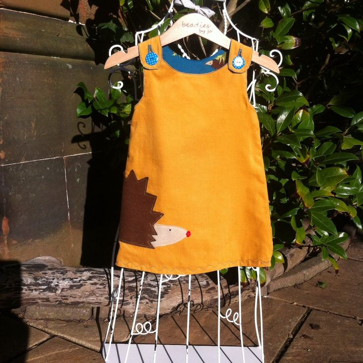A personal favourite from my Etsy shop https://www.etsy.com/uk/listing/251263243/reversible-dress-girls-pinafore-retro