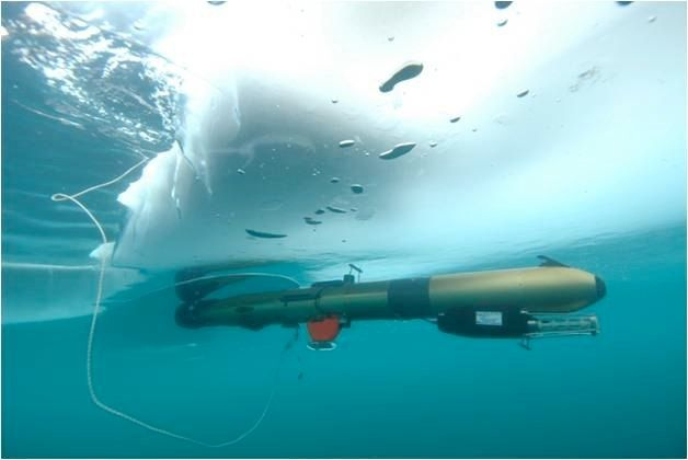 Gavia is an autonomous robot currently on a mission in Antarctica exploring uncharted areas of the ocean. Wouldn't you like to be that robot?