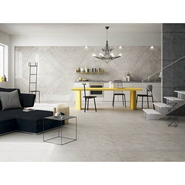 Porcelain stoneware wall/floor tiles with marble effect MUSE ❤ liked on Polyvore featuring home, home decor, wall art, home wall decor, interior wall decor, porcelain floor tiles, wall floor tiles and marble home decor