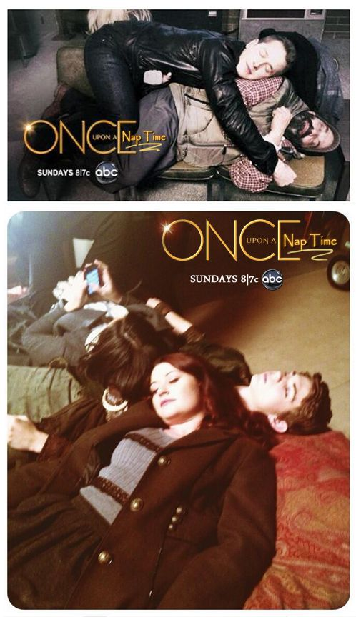 Netter watch out Rumple! Belle is sleeping with Your father