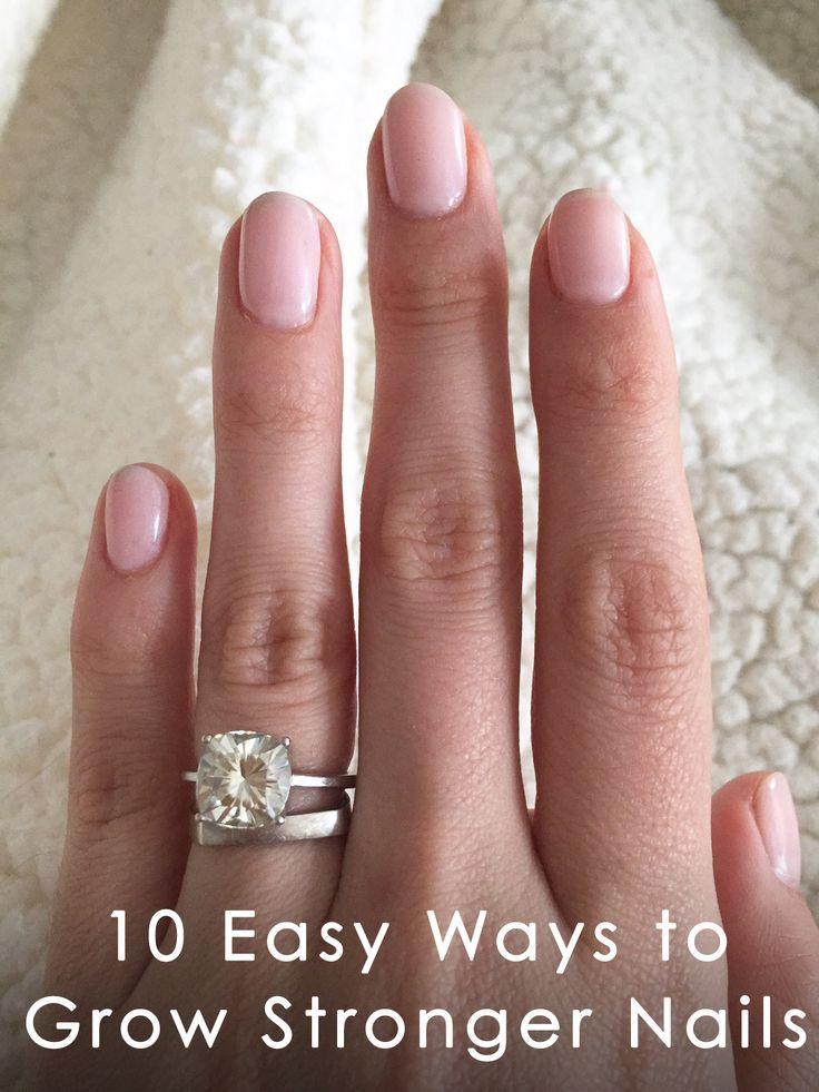 10 Easy Ways To Fix Your Door In Under An Hour: 10 Easy Ways To Grow Stronger Nails
