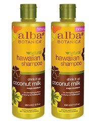 Alba Botanica, Vegan Shampoo and Conditioner makes my hair so soft and shiny, and adds volume! It is paraben free, SLS free, and cruelty free!