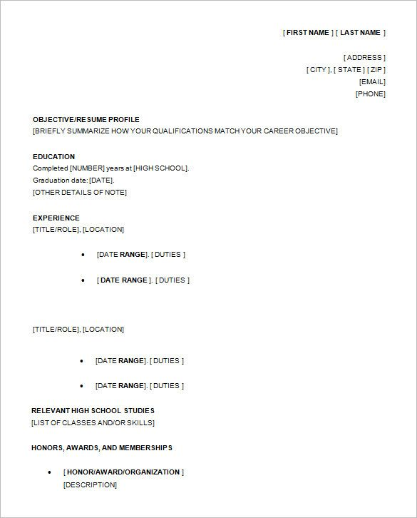 best 25 high school resume template ideas on pinterest job resume resume skills and