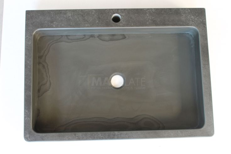 Lavabo in ardesia By Map Slate