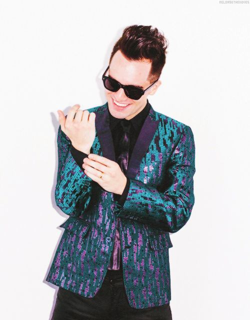 Image result for brendon urie sparkly suit