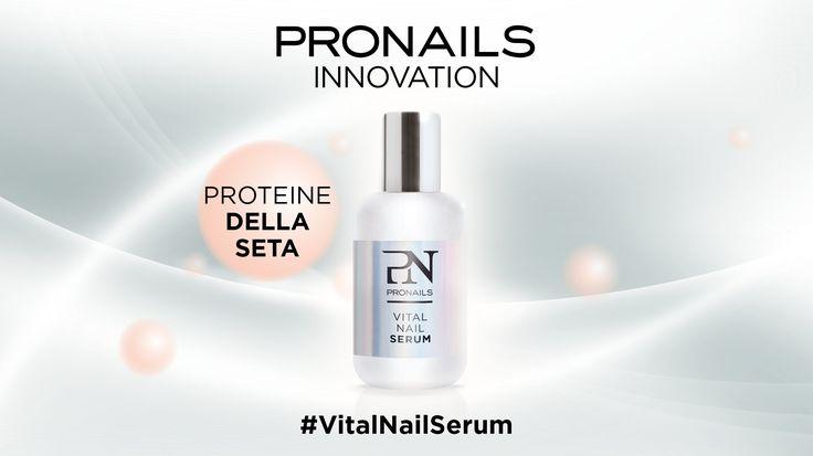 Scopriamo insieme #VitalNailSerum e tutti i suoi 6 componenti! #1 Le Proteine della seta aiutano a mantenere l'umidità e sono facilmente assorbite dalle unghie! #pronailsitalia #pronails #loveyourhands #sopolish VitalNailSerum, il trattamento naturale che ripara, protegge e rigenera!