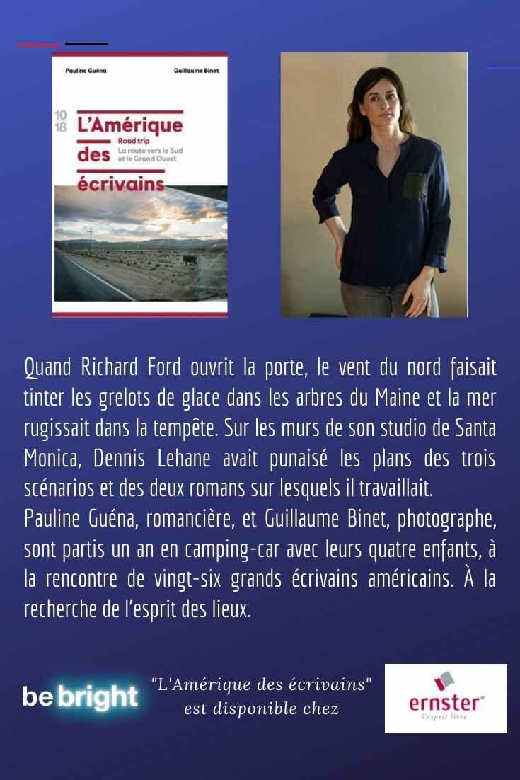 L Amerique Des Ecrivains Pauline Guena Pauline Community Manager Road Trip