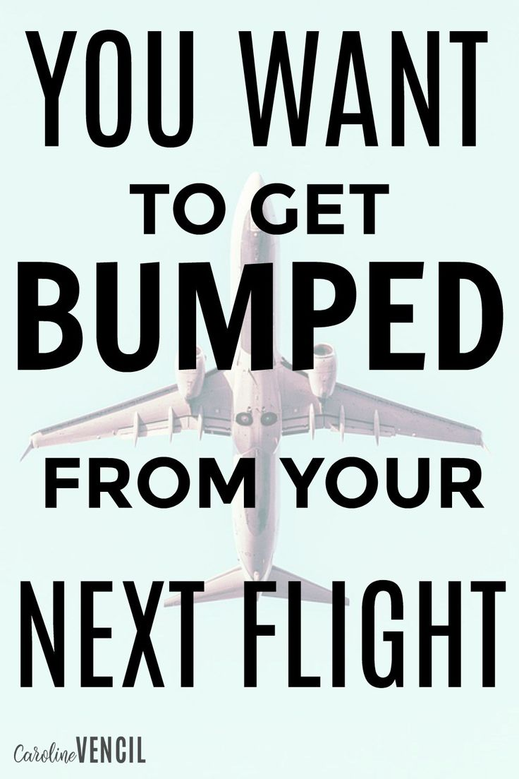 This is crazy! I never knew that you could actually benefit from getting bumped from a flight! You can even volunteer to be bumped and make a LOT of money! How to get bumped from a plan. Why do you get bumped from a plane. How to make money getting bumped