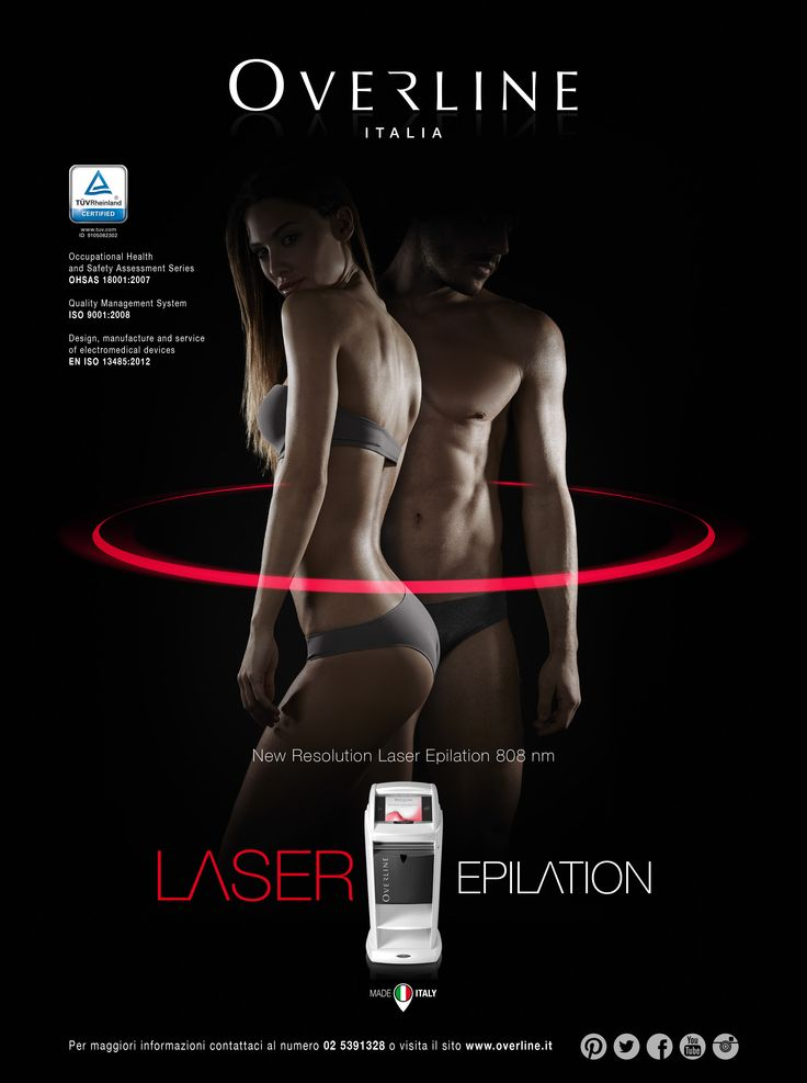 Overline Laser Epilation #MESA #laserepilation #advertising #fotografia #grafica #overline #comunicazione