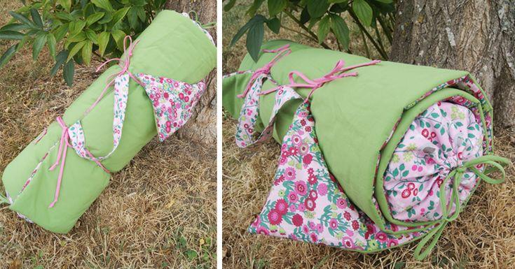 DIY matelas couture Frou-Frou tissu Les Oiseaux