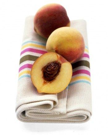 Peach buttermilk sherbet