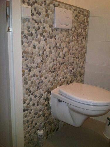 Kiezels toilet pinterest - Badkamer muur tegels porcelanosa ...