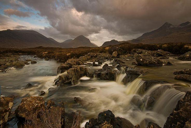 cascate Sligachan - Isola di Skye