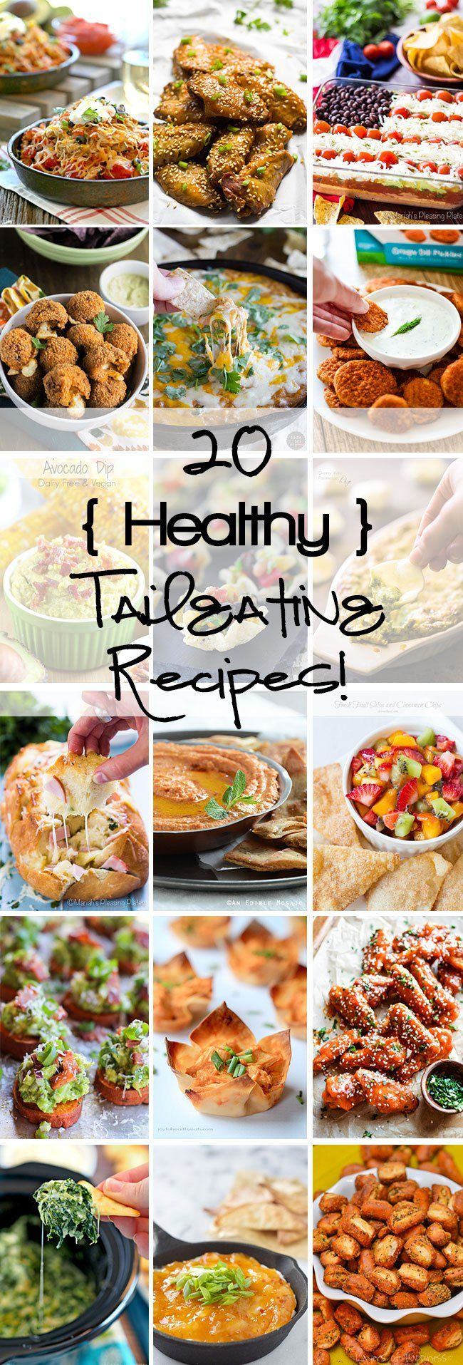 20 healthy tailgating recipes to fulfill every taste bud!