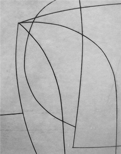 Ben Nicholson, grids, line, simplistic