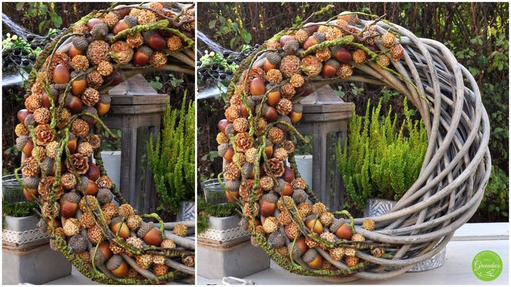 Autumn wreath ~ Greendeco | Uploaded by Jose van Neer