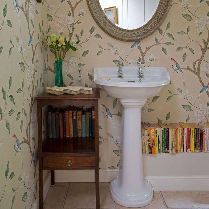 Best 25 bathroom ideas uk ideas on pinterest for Ideal home wallpaper