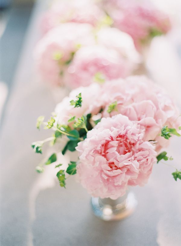 Pink Peony Centerpieces | Small Pink Wedding Centerpiece Ideas - Elizabeth Anne Designs: The ...