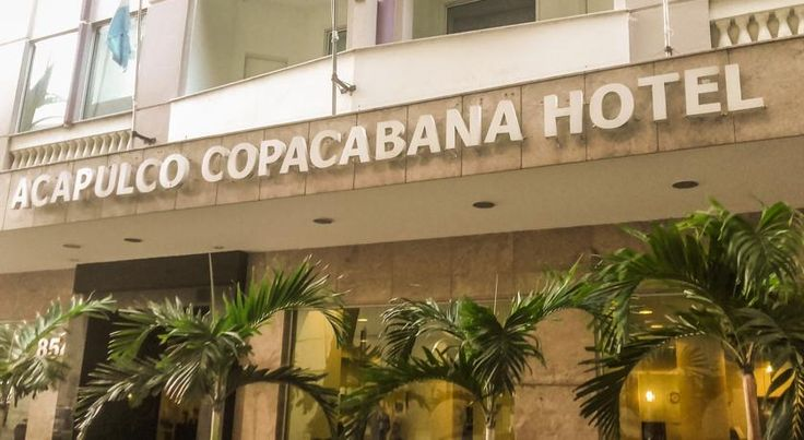 Acapulco Copacabana Hotel Rio De Janeiro Only one block from famous Copacabana Beach, this hotel features modern interiors, free internet access and free parking. Rooms provide air conditioning and LCD cable TV.