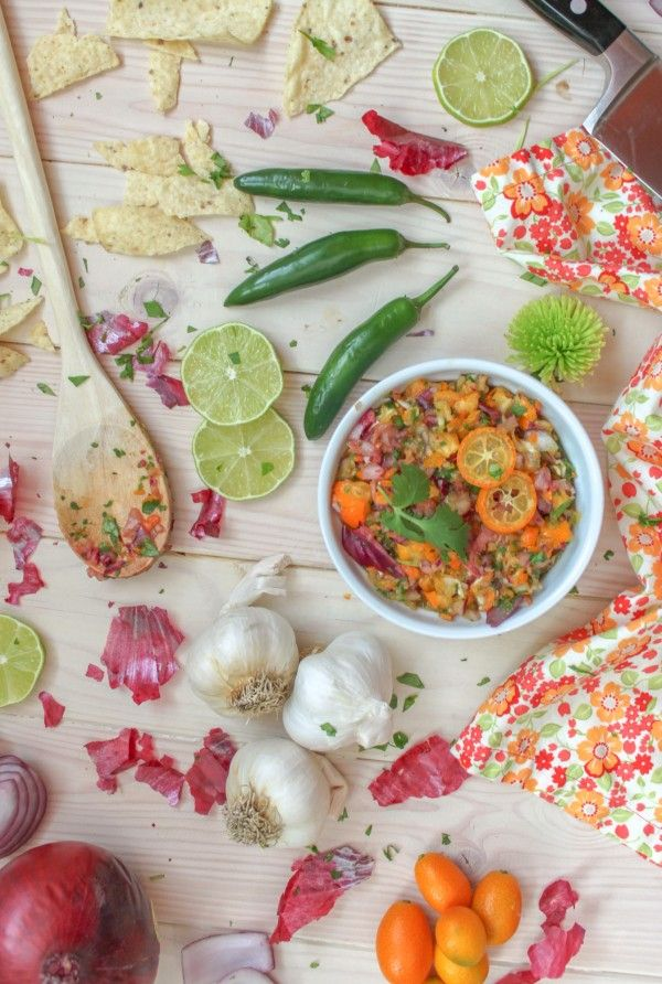 Kumquat Salsa via Jerry James Stone http://cookingstoned.tv/recipe/kumquat-salsa/#recipe