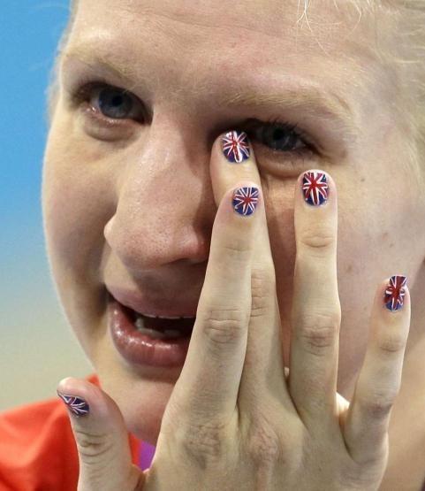 Jeux Olympiques 2012 : La manucure, le geste beauté patriotique