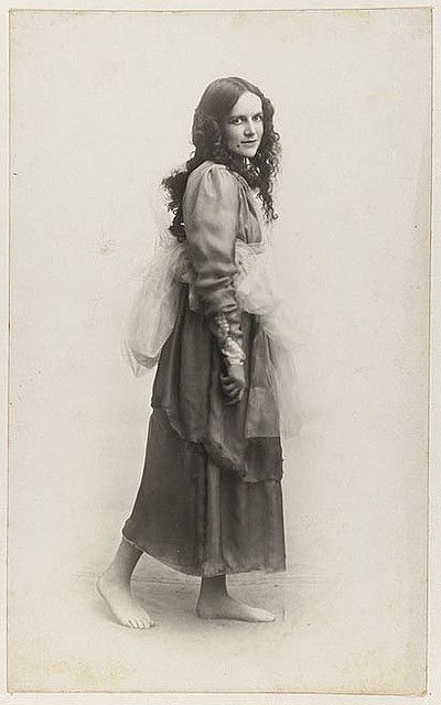 Dorothea Mackellar dressed as one of the Graces for Mrs T.H. Kelly's Italian Red Cross Day tableaux at the Palace Theatre, 20 June 1918 / Glen Broughton.  Dorothy MacKellar was a fiction writer and poet. She was the author of My Country, perhaps Australia's most famous poem.    From the collections of the Mitchell Library, State Library of New South Wales www.sl.nsw.gov.au      Find more details about this image http://acms.sl.nsw.gov.au/item/itemDetailPaged.aspx?itemID=440395