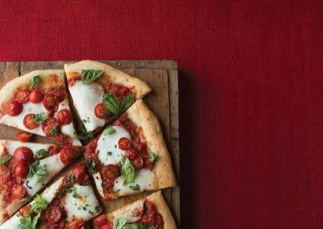 Three-Herb Cherry Tomato Pizza | Vegetarian Times