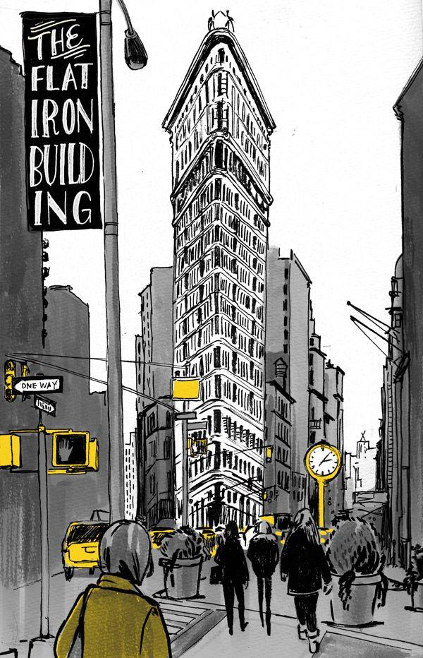 The Flat Iron Building, by Elizabeth Baddeley