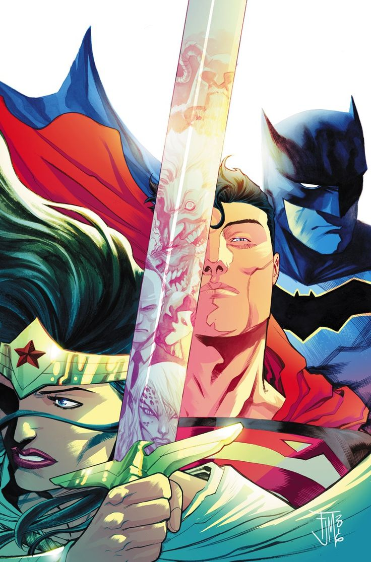 TRINITY #1 Written by FRANCIS MANAPUL Art and cover by FRANCIS MANAPUL