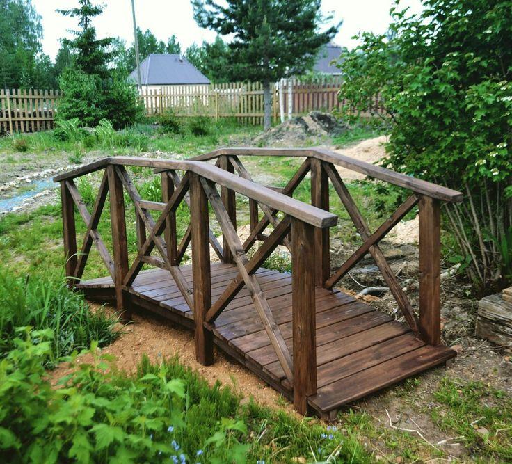 Декоративный мостик для ландшафтного дизайна